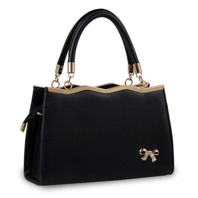 53c21ce17617 Summer Fashion Bowknot Women Leather Handbag Totes Fashion Korean Style Hand  Bag Female Hand Bags Designer Red Ladies Purse