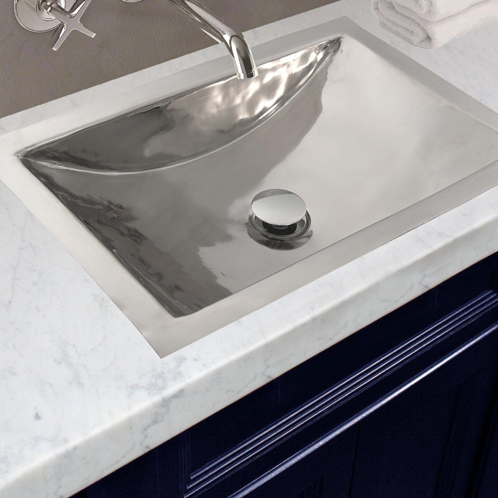 Rectangle Dual Mount Bathroom Sink Rectanglebathroomsink With