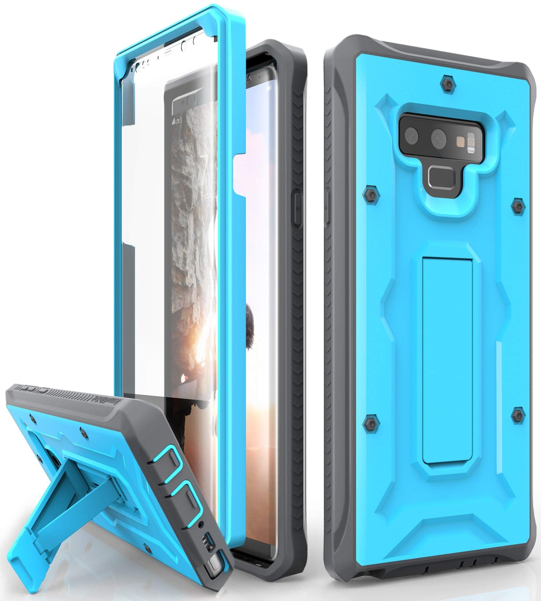 Sports & Outdoors Full-Body Rugged Case with Built-in Screen ...