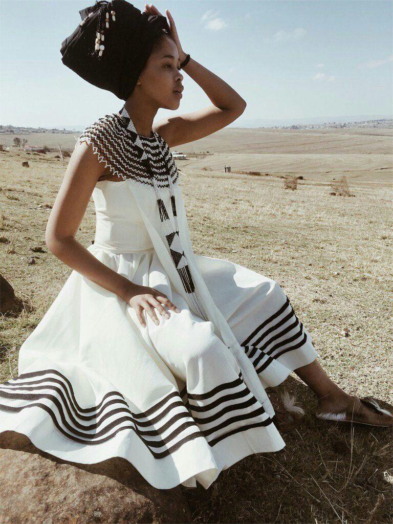 Umxhosa 😍😍😍 Xhosa Attire Traditional Dress Black
