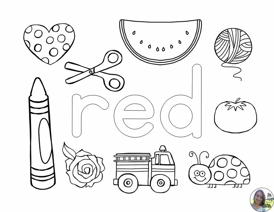 learning about colors coloring pages colors teaching colors preschool color activities. Black Bedroom Furniture Sets. Home Design Ideas