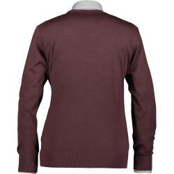 Photo of State of Art Pullover, Merinowolle-Mix, uni State of Art