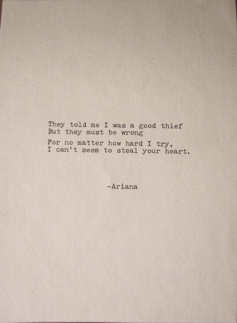 Love Poem Love Letter Romantic Note Original Poetry Written | Etsy