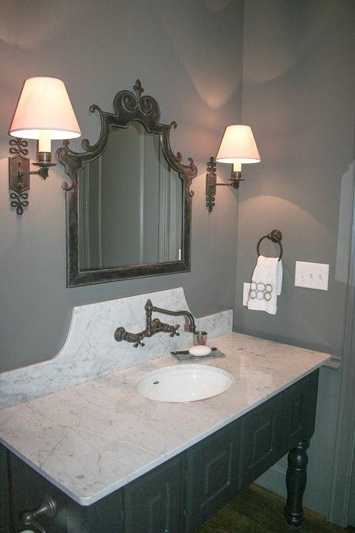 Powder4 Jpg Powder Room Wall Mount Faucet Bathroom Powder Room Vanity Wall Mount Faucet