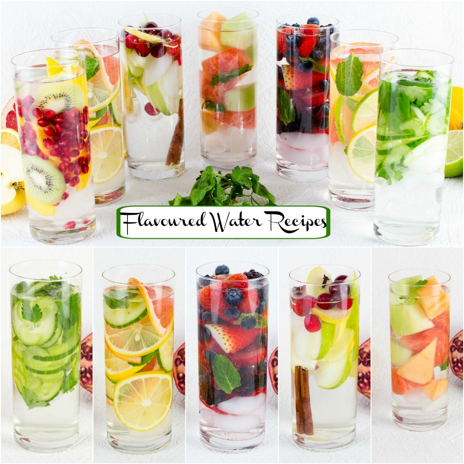 Simple, Fresh Fruits, Vegetables And Herbs In These Diet