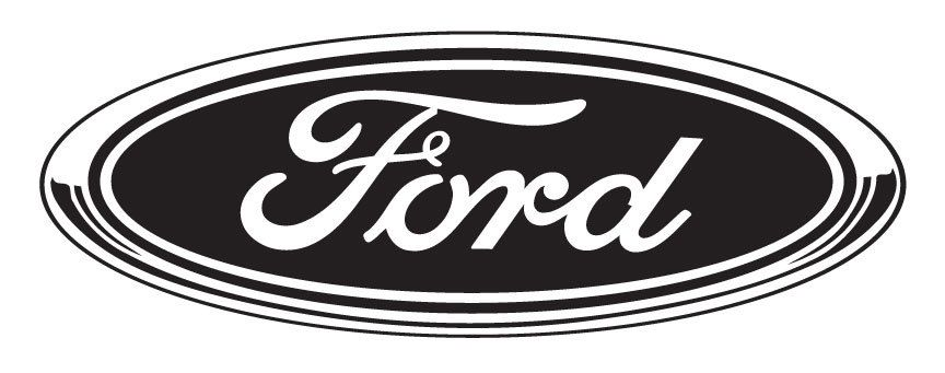 Ford Decal For Auto Glass Walls And Windows Vinyl Decal By