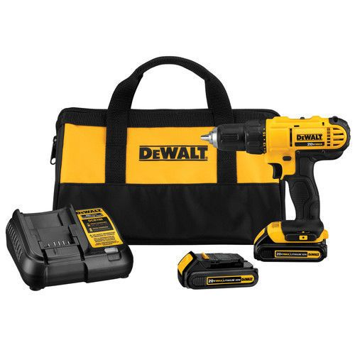 Details about DEWALT 20V MAX Li-Ion 1/2 in  Drill Driver Kit