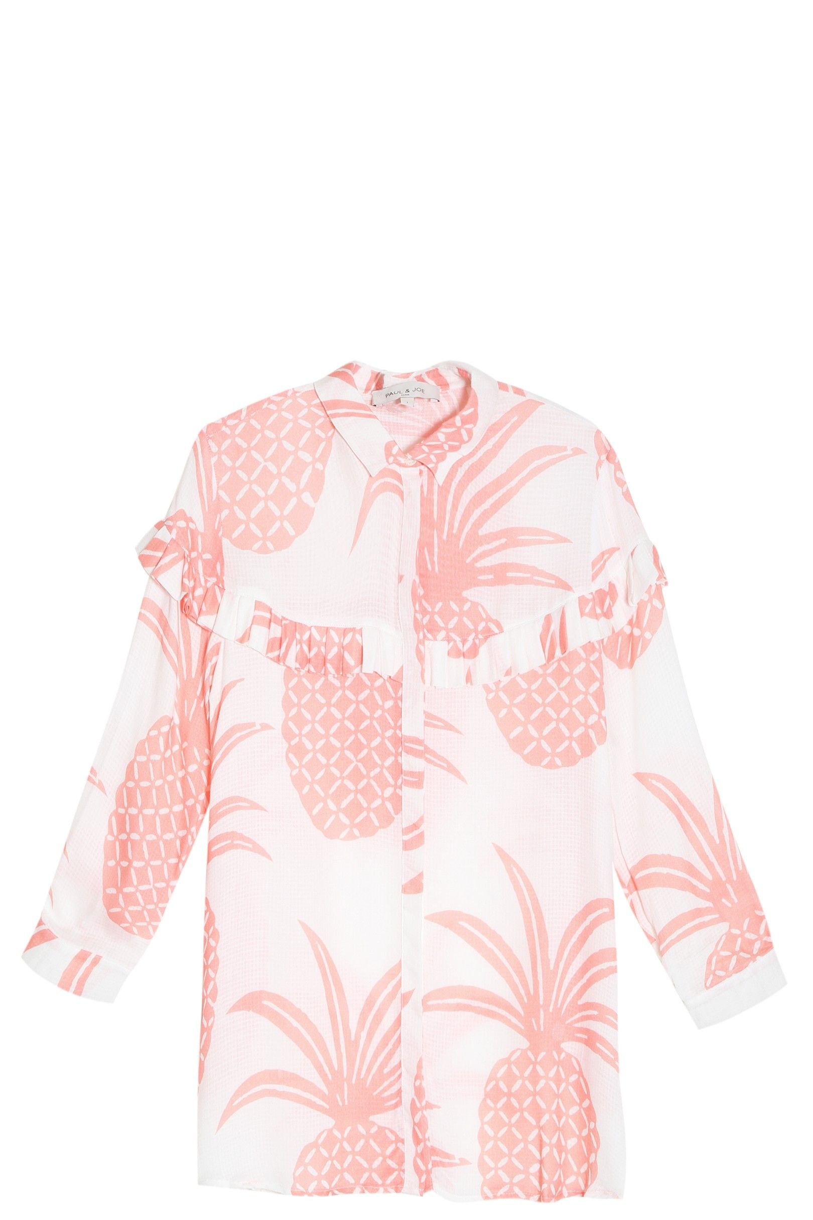 SS16 | Paul & Joe Pineapple Shirt. Available in-store and on Boutique1.com