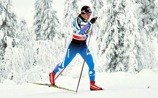 Katri Lylynperä Rukan maailmancupissa viime talvena. Kuva: NordicFocus