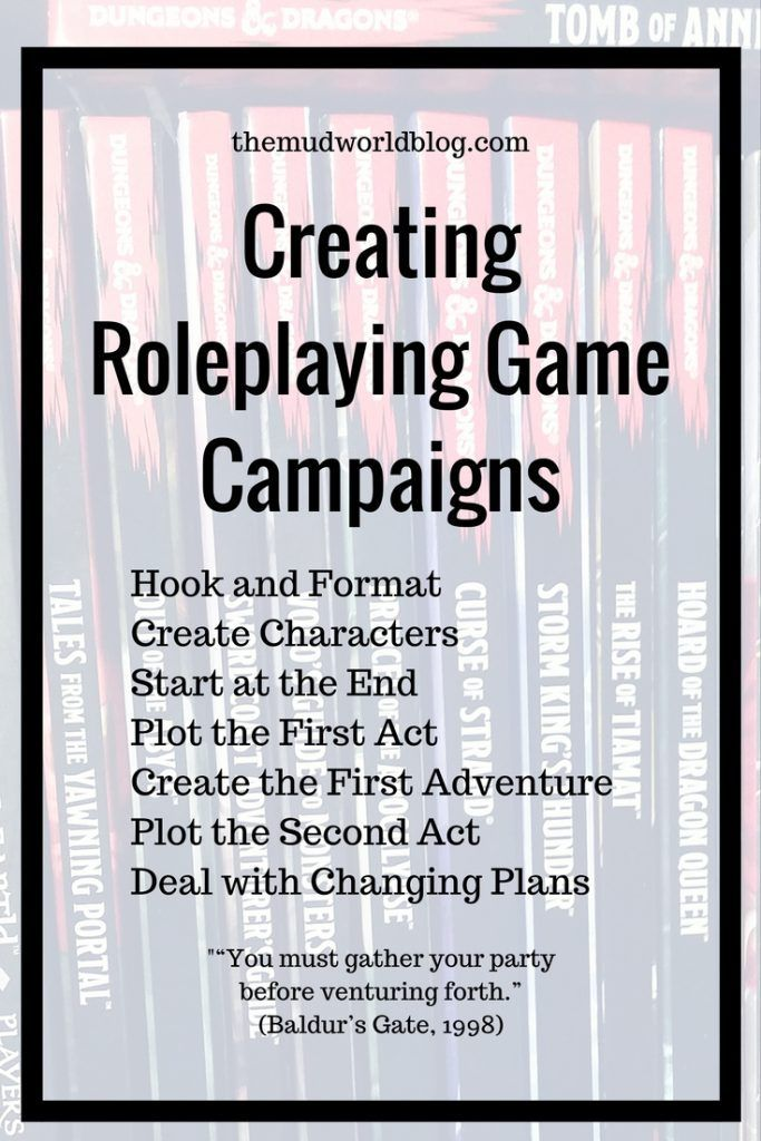 Starting a new roleplaying game campaign requires three decisions: create characters, pick a setting, and pick a story or at least a theme. You can do this in any order you like, or all at once. This is for Dungeon and Dragons, Pathfinder RPG, Fantasy Age and other fantasy roleplaying games.
