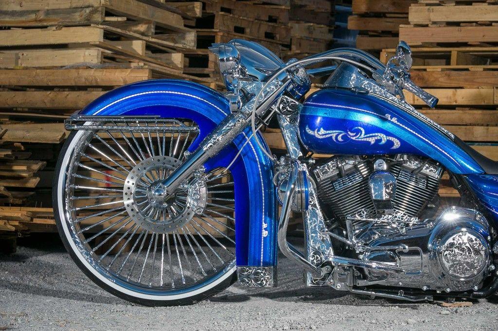 2014 harley davidson road king 30 inch engraved wheel | Motorcycles