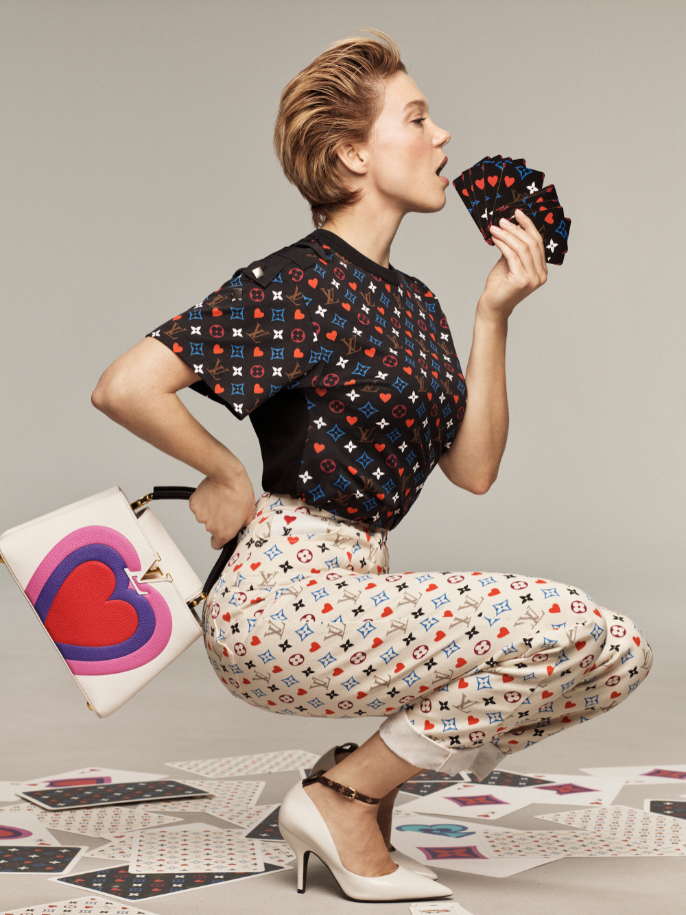 Lea Seydoux in 'Game On' for Louis Vuitton Cruise