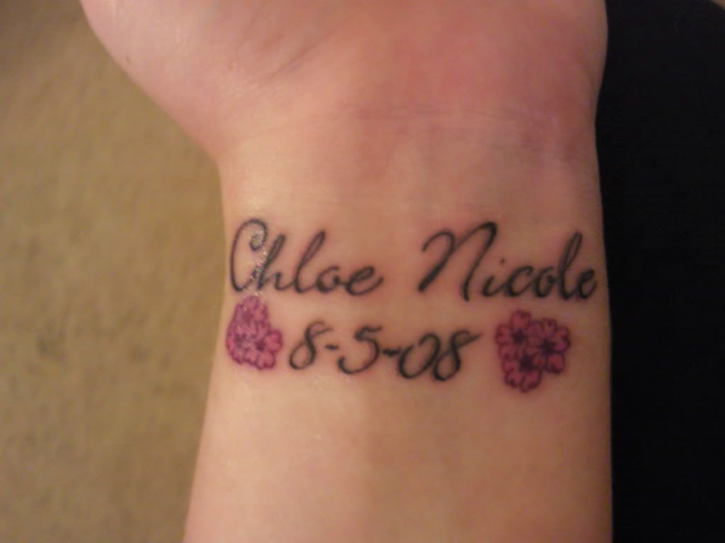 Lets See Your Tattoo Of Childrens Name Tattoo Ideas