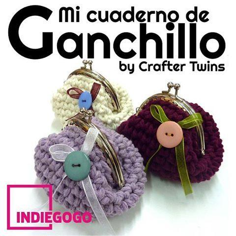 Vamos!!! Compartidlo, Nos haría mucha ilusión conseguirlo  #craftertwins #libro #book #crowdfunding #handmade #handmadebarcelona #fetama #hechoamano #craft #botigadellanes #tiendadelanas #yarnstore #tallerdeganchillo #crochetworkshop #crochetworld #crochet #ilovecrochet #ganchillo #instacrochet #amigurumi #cuteamigurumi #cosasbonitas