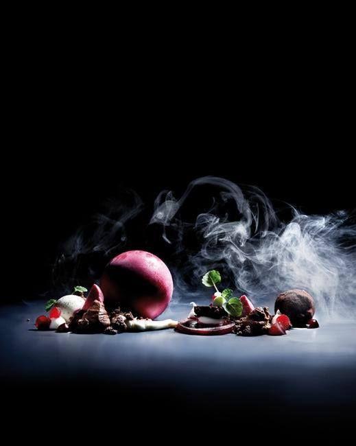 Dennis Puchert Chefs Talk Show ~ Araguani Beetroot Mascarpone