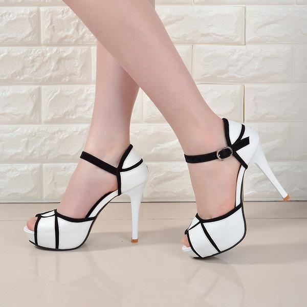 e89ec9048c Womens Shoes Peep-toe High Heels Vogue Crossover Sapato Feminino Salto  Baixo