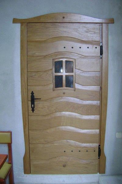Wooden Door Made From Oak By Mario Erceg At Artwanted Com Wooden Doors Tall Cabinet Storage Oak