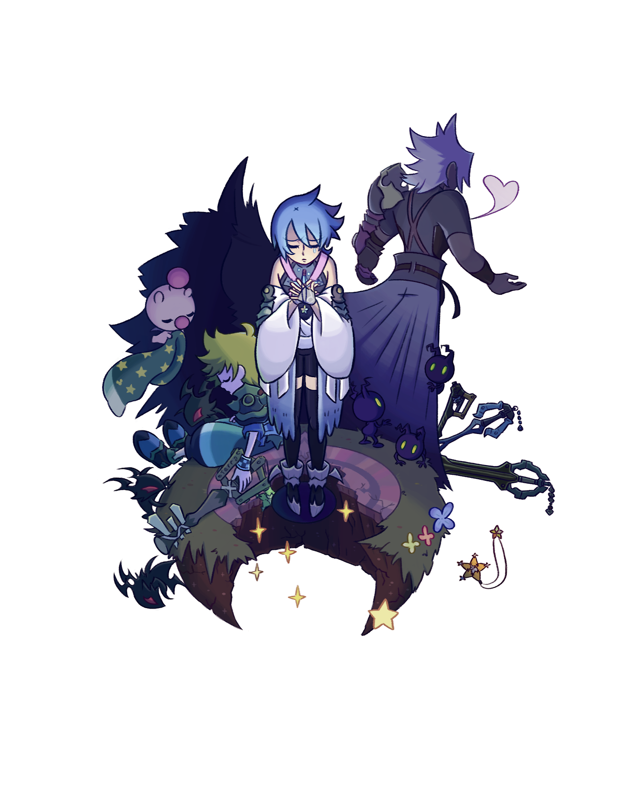 Credit to the artist. This is cool | Kingdom Hearts | Pinterest ...