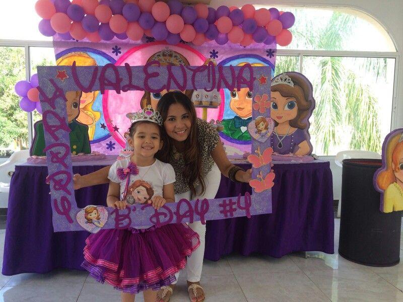 Marco para fiesta de la princesa sofia | Ideas divertidas | Pinterest