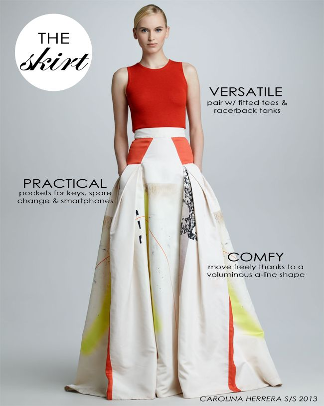 Image result for carolina herrera skirt | Projects to Try in 2018 ...