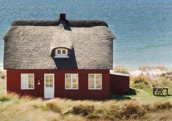 denmark. So much like Farfar and Farmor's house on the North Sea.