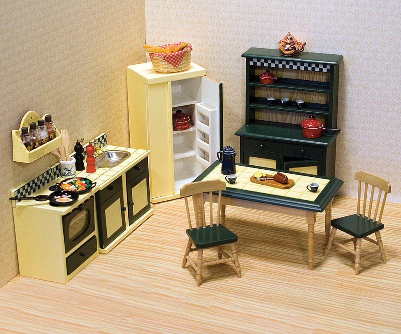 Melissa & Doug - Juego de cocina para casa de muñecas (12582 ...