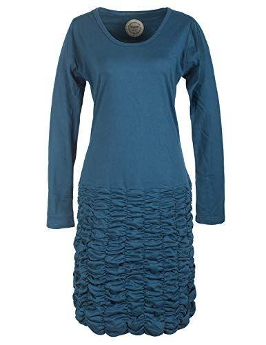 vishes - alternative bekleidung - langarm damen eco kleid