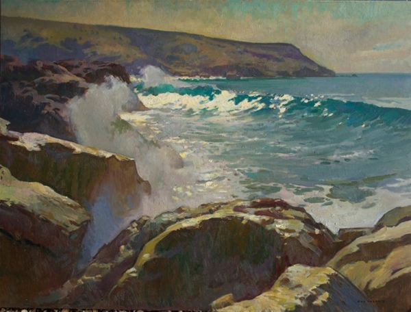 "Ray Roberts - ""Two Harbors, Catalina"""