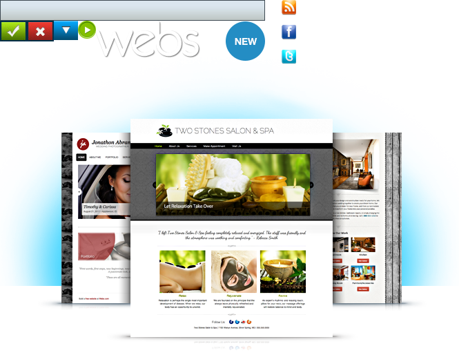 Where you can create you own website free with Webs various tools. FREE