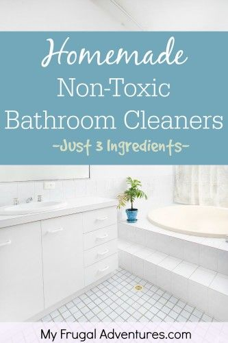 Homemade Bathroom Cleaners Homemade Homemade Bathroom Cleaner And - Non toxic bathroom cleaner