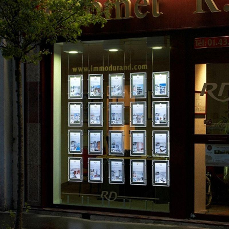 Günstige 20 STÜCKE Immobilienmakler/Reisebüro Fenster Hängen Acryl ...
