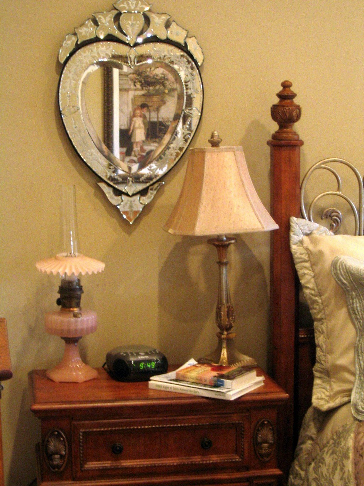 Love Venetian mirrors. Purchased 2 from eBay