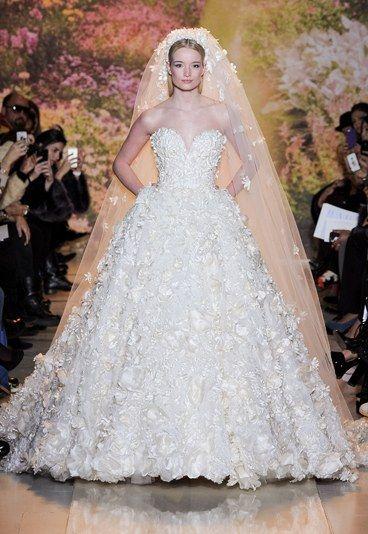 La robe de mariée Zuhair Murad Haute Couture printemps-été 2014 - Les plus belles robes de mariée Haute Couture Printemps-Eté 2014