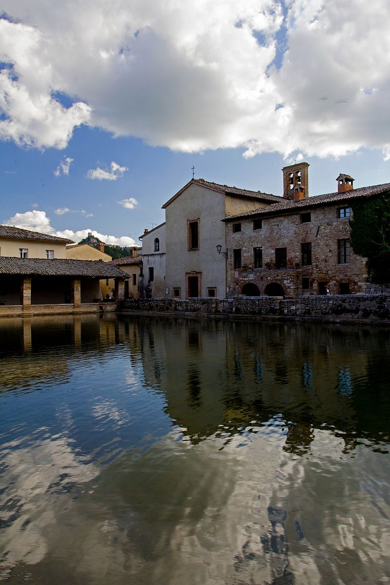 The Thermal Baths Of Bagno Vignoni San Quirico D Orcia Tuscany