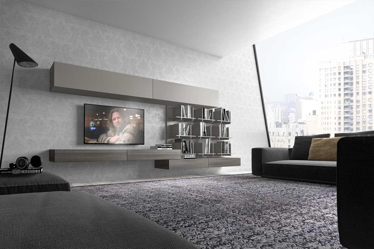 Soggiorno componibile moderno PR I modulART 20 | interior design ...
