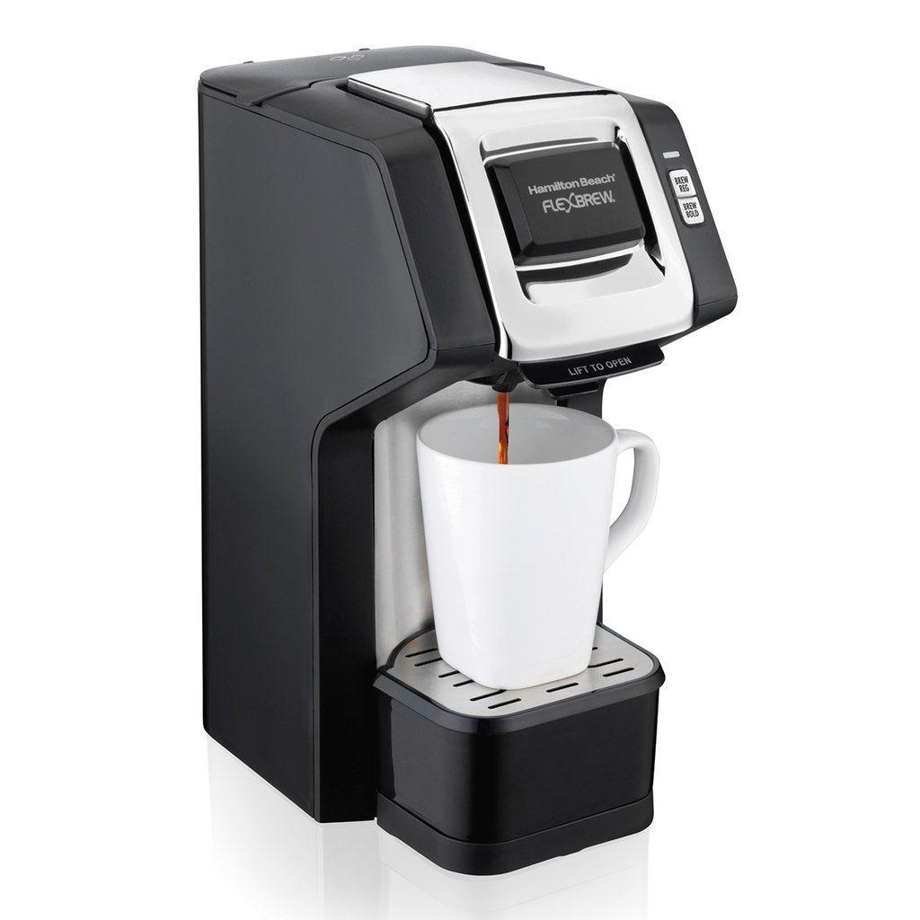 Hamilton Beach Flexbrew Single Serve Plus Coffee Maker Single Serve Coffee Coffee Maker Single Coffee Maker