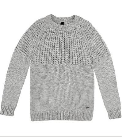 775b64040f Hering - Blusão Masculino em Lã e Tricô Trabalhado - Por R  139