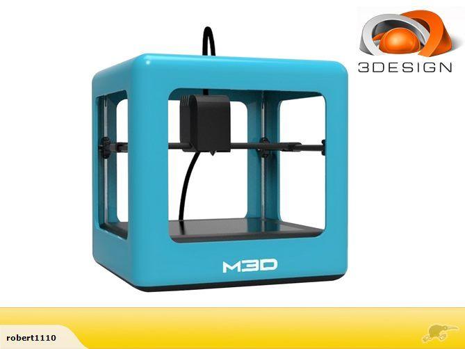 3D printer M3D Consumer 3D printer 1 Reserve auction