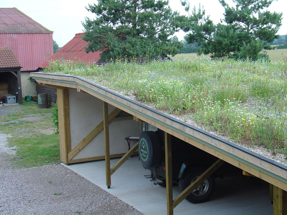 Best The Grass Roof Company Garages Huside Er House Ideas 400 x 300