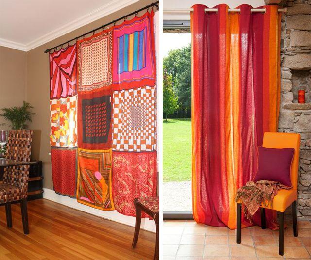 Cortinas inspiradoras cortinas cortinas rusticas y el - Cortinas rusticas dormitorio ...