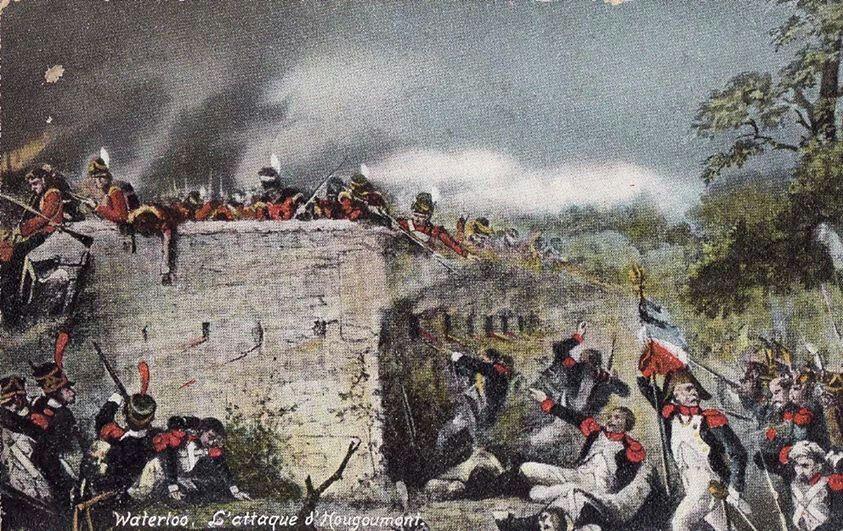 Attacco francese alla tenuta di Hougoumont