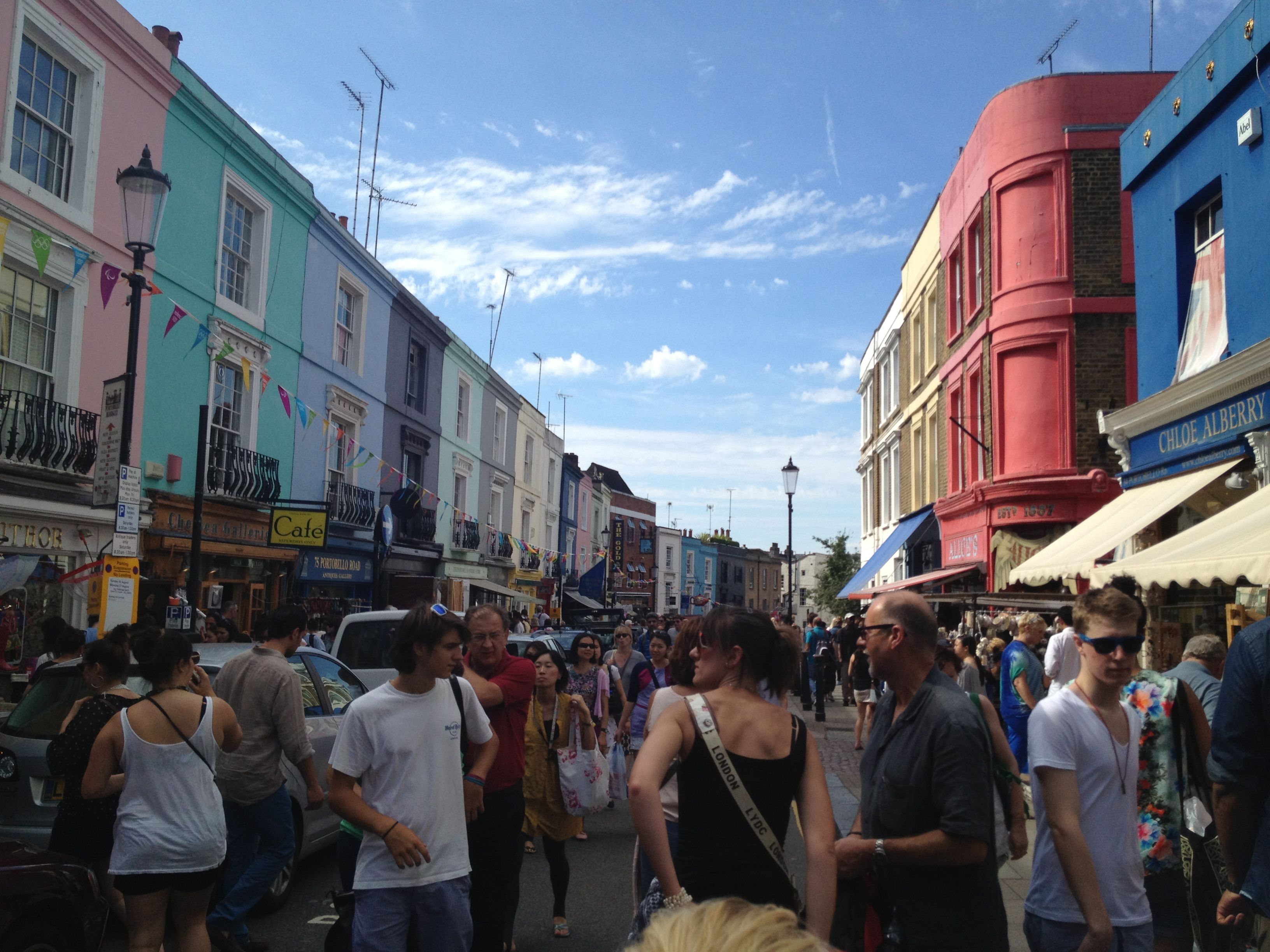 Portabello Market - London | been there | Pinterest | Travel sights ...