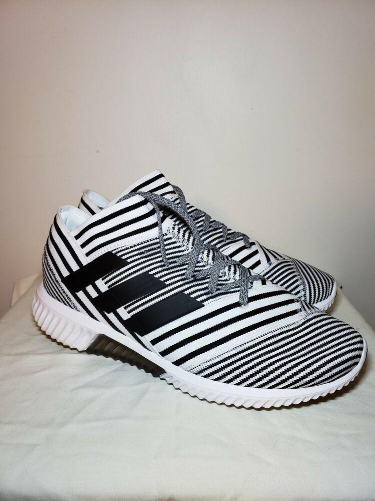 b71165cdc3a0 Adidas Nemeziz Tango Yeezy 17.1 Men Indoor Soccer Shoes White Black US sz  11.5  fashion  clothing  shoes  accessories  mensshoes  athleticshoes (ebay  link)