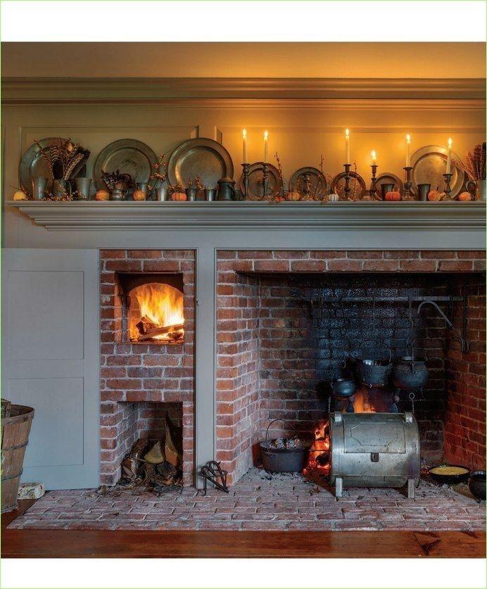 Amundsen Kitchen Hearth Room: 42 Attractive Farmhouse Kitchen With Fireplace