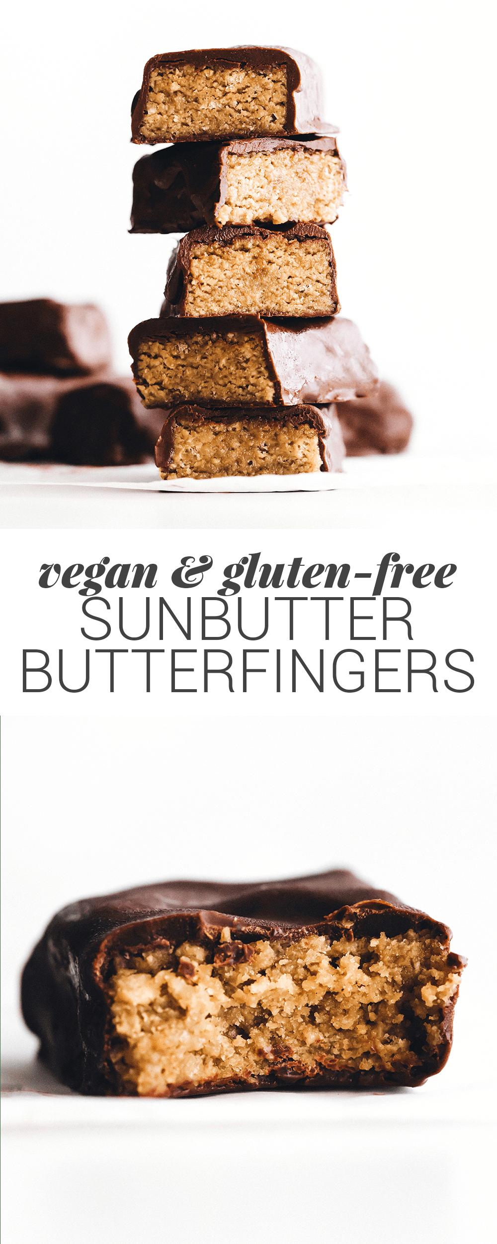 Sunbutter Butterfingers Recipe Healthy Vegan Desserts Butterfinger Recipes Quick Healthy Desserts