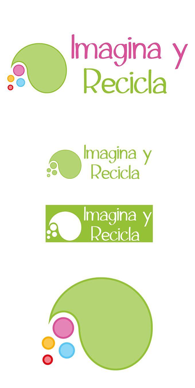 Logotipo Muy Divertido Para Blog De Manualidades Y Reciclaje Logos