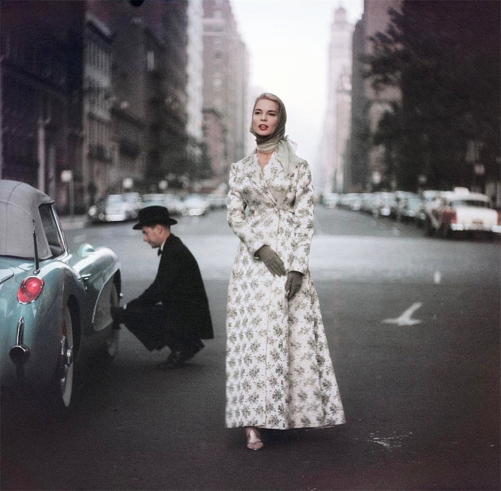 "wehadfacesthen: ""Fashion photo by Gordon Parks, New York, 1956 """