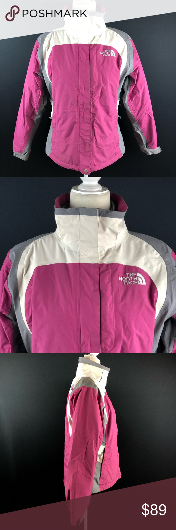 The North Face Hyvent 3 In 1 Snowboard Ski Coat North Face Hyvent Ski Coat The North Face [ 1740 x 580 Pixel ]