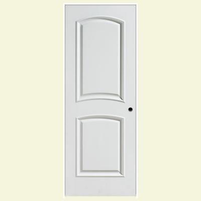Delightful Masonite Palazzo Bellagio Smooth 2 Panel Arch Top Solid Core Primed  Composite Prehung Interior Door