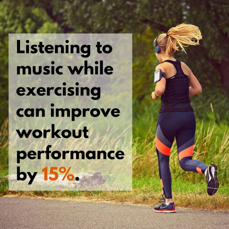 Next Time You Go To The Gym Or Decide To Workout Make Sure You Grab Your Headphones Tgif Funfactfriday Fun Fact Friday Workout Listening To Music